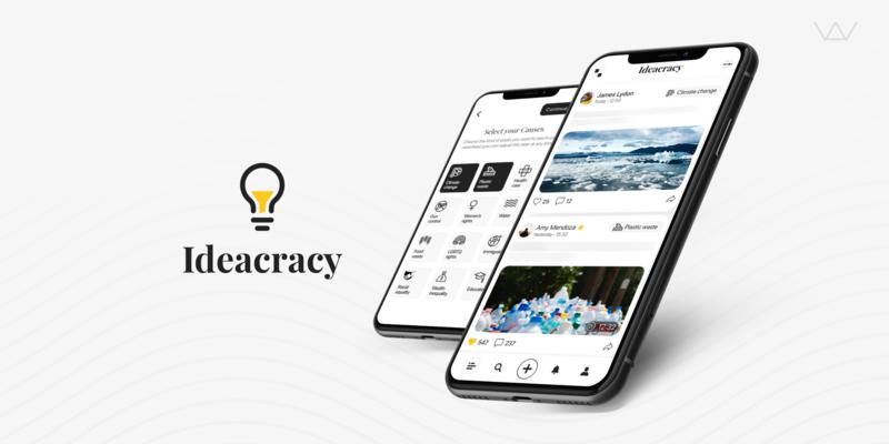 Social app, Ideacracy, Wolfpack Digital client, US startup, community app, app development trends, app builders