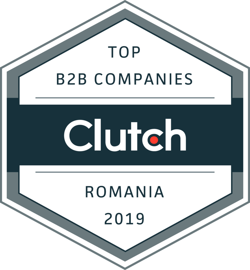 Top B2B companies, top B2B service providers of Romania, Clutch award, top web developers, top mobile developers, Wolfpack Digital
