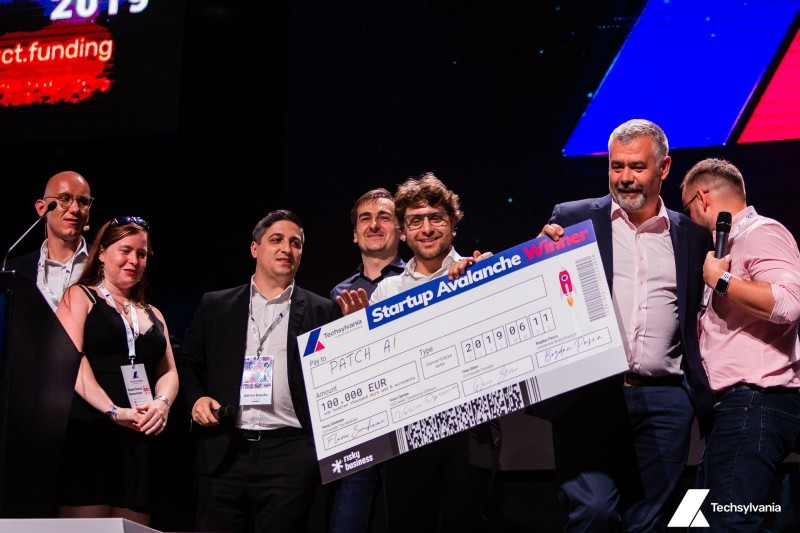 Patch AI healthtech startup, Startup Avalanche winner at Techsylvania, innovation and entrepreneurship, Wolfpack Digital