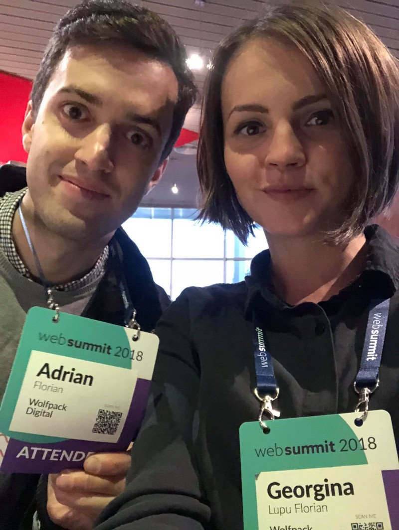 Web Summit highlights from CEO and CTO of Wolfpack Digital, top company in building fintech, AI, and healthcare apps