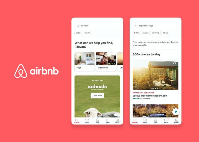 Airbnb uses react native and native iOS and Android to build a scalable mobile app, Wolfpack Digital overview