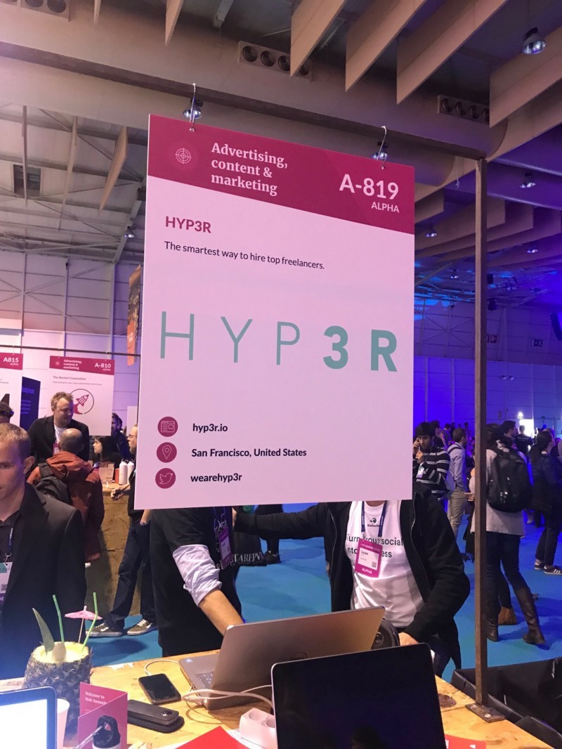 Hyp3r tech startup at Web Summit spotted by Wolfpack Digital is a platform from US with co-founders Rafael Platas and RIcardo Chan