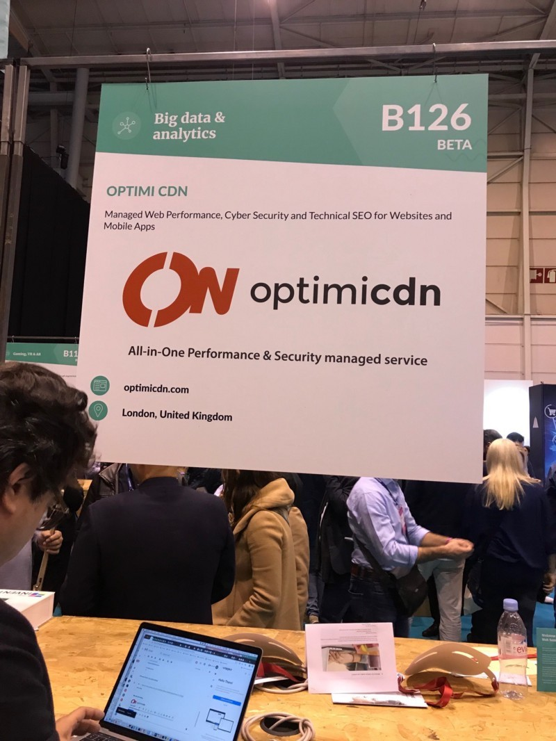 Optimicdn tech startup from UK is an multi CDN service spotted by Wolfpack Digital at Web Summit offering better rank by Google
