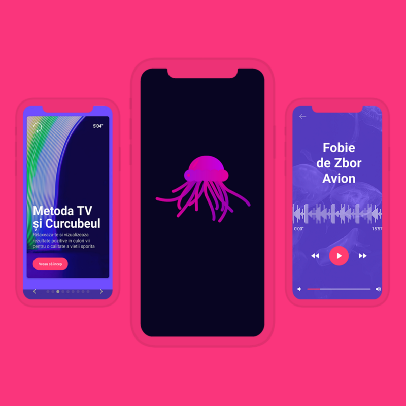 Wolfpack Digital did Android development and iOS development for Medusa app, meditation app for fighting digital stress and anxiety