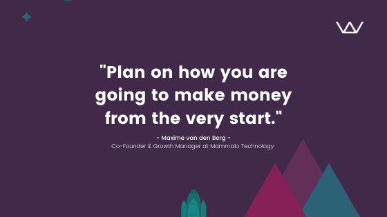 Early-Stage startup in eCommerce and retail, Mammalo Technology, and its co-founder Maxime van den Berg with Wolfpack Digital