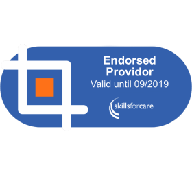 Skillsforcare endorsement Logo