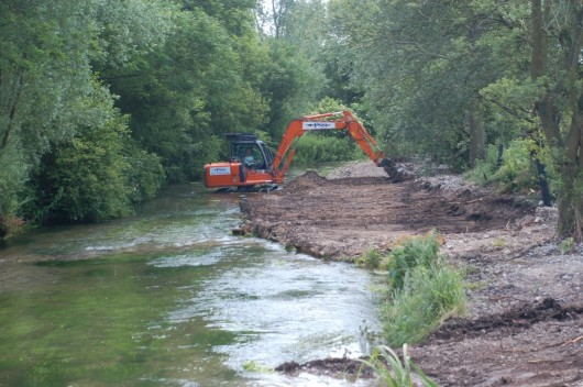 Plunket Greene's Bourne chalk stream restoration