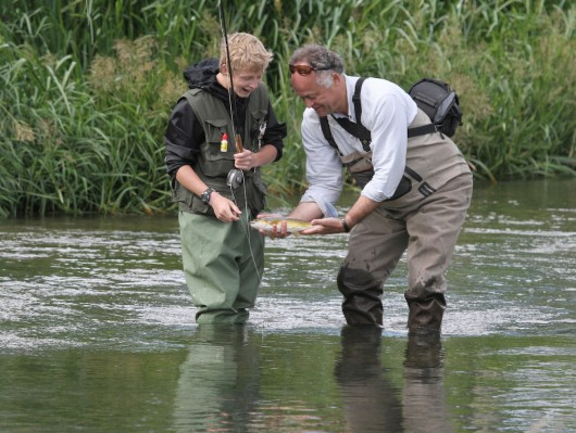 brown trout hampshire avon chisenbury