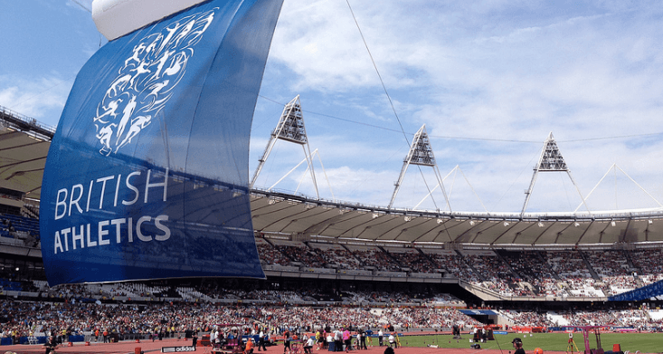 British Athletics organise major UK competitions and support top athletes. Photo: Richard Phipps via Flickr.