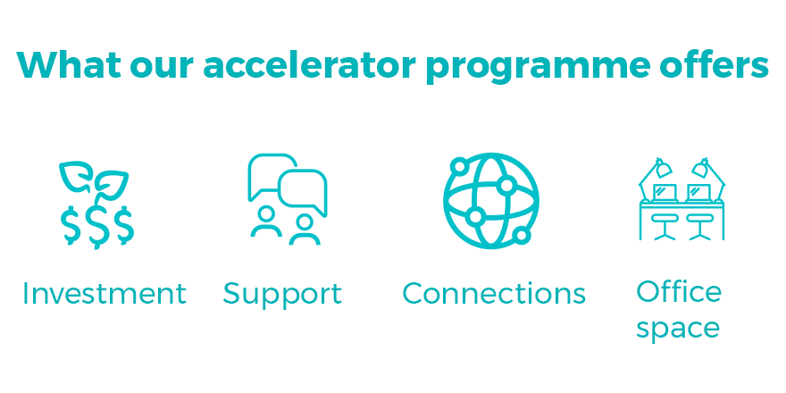 What our accelerator programme offers