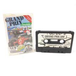 Grand Prix Simulator (Commodore 64 Cassette)