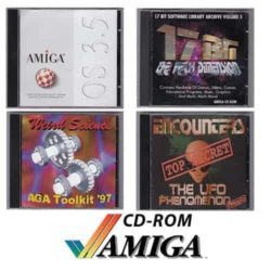 Amiga Spil/Software (CD-Rom)