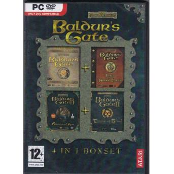 Baldur's Gate (PC - 4 in 1 Boxset)