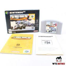 F-1 World Grand Prix (Nintendo 64 - Boxed)