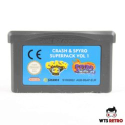 Crash & Spyro Superpack Vol. 1 (Game Boy Advance - GBA)