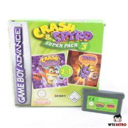 Crash & Spyro Superpack Vol. 3 (Game Boy Advance - Boxed)
