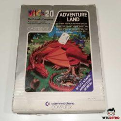 Adventureland (VIC-20) m. kasse og manual