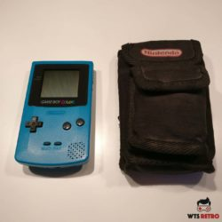 Game Boy Color (Turquoise) m. taske