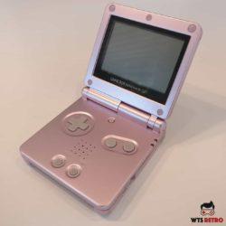 Game Boy Advance SP (Pink) m. oplader
