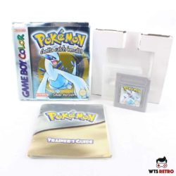 Pokémon Silver Version (Game Boy Color - Boxed - CIB)