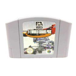 F-1 World Grand Prix (Nintendo 64, EUR)