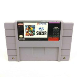 FIFA International Soccer (SNES, USA)