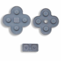 Nintendo DS Lite rep. sæt (D Pad Gummi underlæg)