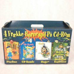 4 Frække Børnespil på CD-Rom (PC)