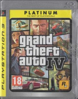 Grand Theft Auto IV (Playstation 3 / PS3)