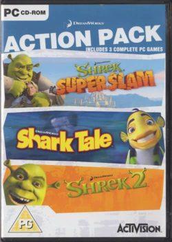 Action Pack - Shrek: Super Slam, Shark Tale, Shrek 2 (PC)