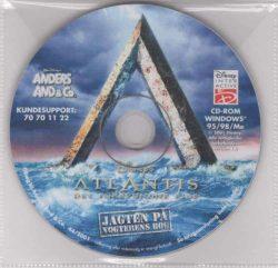 Atlantis: Det Forsvundne Rige - Jagten på vogternes bog (PC - CD)