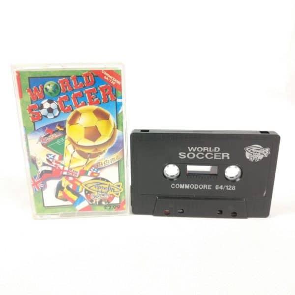 World Soccer (Commodore 64 Cassette)