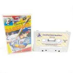 Championship Baseball (Commodore 64 Cassette)