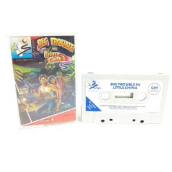 Big Trouble in Little China (Commodore 64 Cassette)