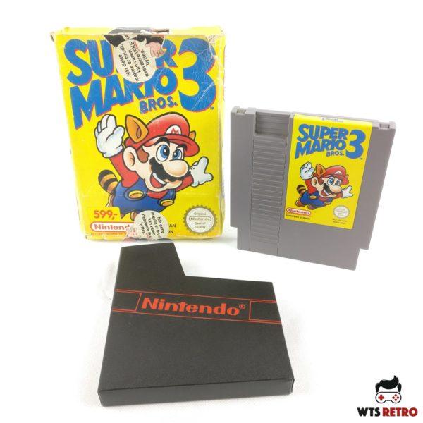 Super Mario Bros 3. (Nintendo NES, SCN, Boxed)