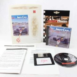 IndyCar Racing (PC Big Box, 1993, Papyrus)
