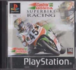 Castrol Honda Superbike Racing (PS1 / Playstation 1)