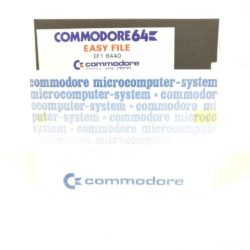 Easy File (Commodore 64 - Disk)