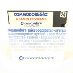 6 Games Programs (Commodore 64 - Disk)