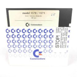 Commodore Model 1570/1571 Test/Demo Diskette (Commodore 64 - Disk)