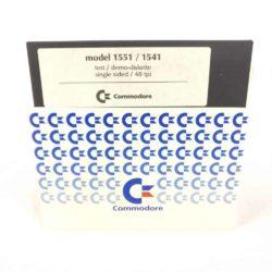Commodore Model 1551/1541 Test/Demo Diskette (Commodore 64 - Disk)