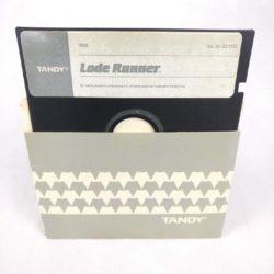 "Lode Runner, 1983, Brøderbund Software (Tandy 1000, IBM/PC, 5.25"" Disk)"