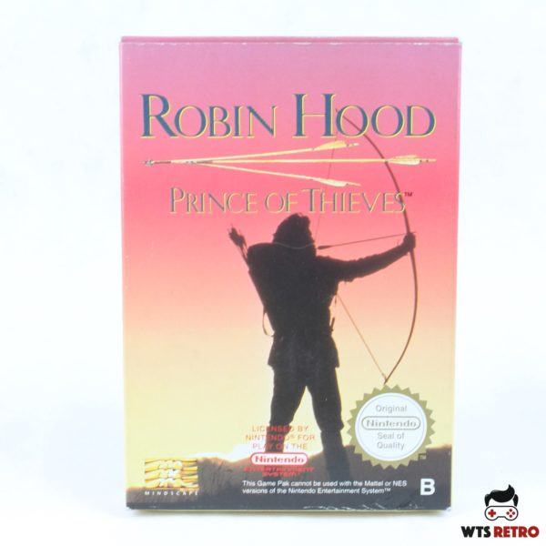 Robin Hood: Prince of Thieves (NES, CIB, PAL-B, ESP)