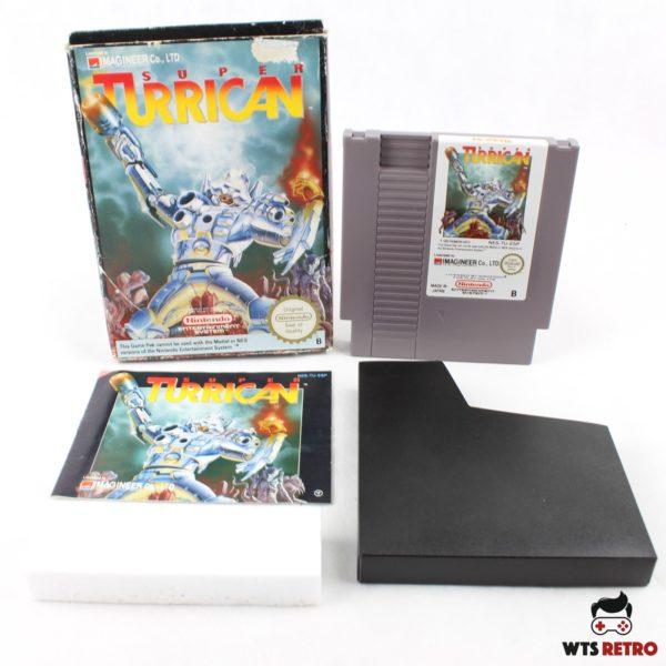 Super Turrican (NES, CIB, PAL-B, ESP)