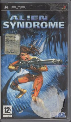 Alien Syndrome (Sony PSP - Italiensk)