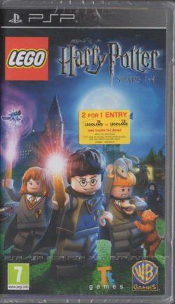 LEGO Harry Potter Years 1-4 (Sony PSP - Ny/Sealed)