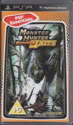 Monster Hunter: Freedom Unite (Sony PSP - Essential)