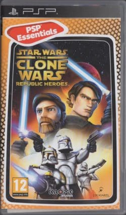 Star Wars: The Clone Wars - Republic Heroes (Sony PSP - Essential)