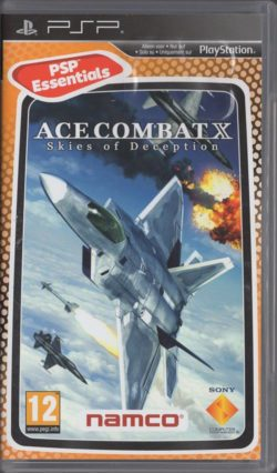 Ace Combat X: Skies of Deception (Sony PSP - Essential)