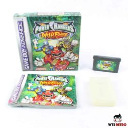 Power Rangers: Wild Force (Game Boy Advance - Boxed - CIB)